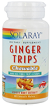Solaray Ginger Trips™  67.5 mg 60 Chewable Wafers