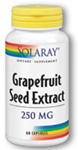Solaray Grapefruit Seed Extract 250 mg 60 Capsules