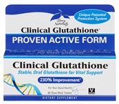 Terry Naturally Clinical Glutathione 60 Slow Melt Tablets