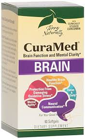 Terry Naturally CuraMed Brain  60 Softgels