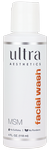 Ultra Aesthetics MSM Facial Wash 4 fl oz