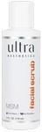 Ultra Aesthetics MSM Facial Scrub 4 fl oz (114 ml)
